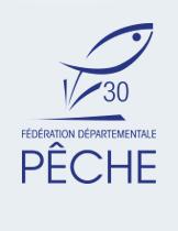 logo fédération de pêche du Gard