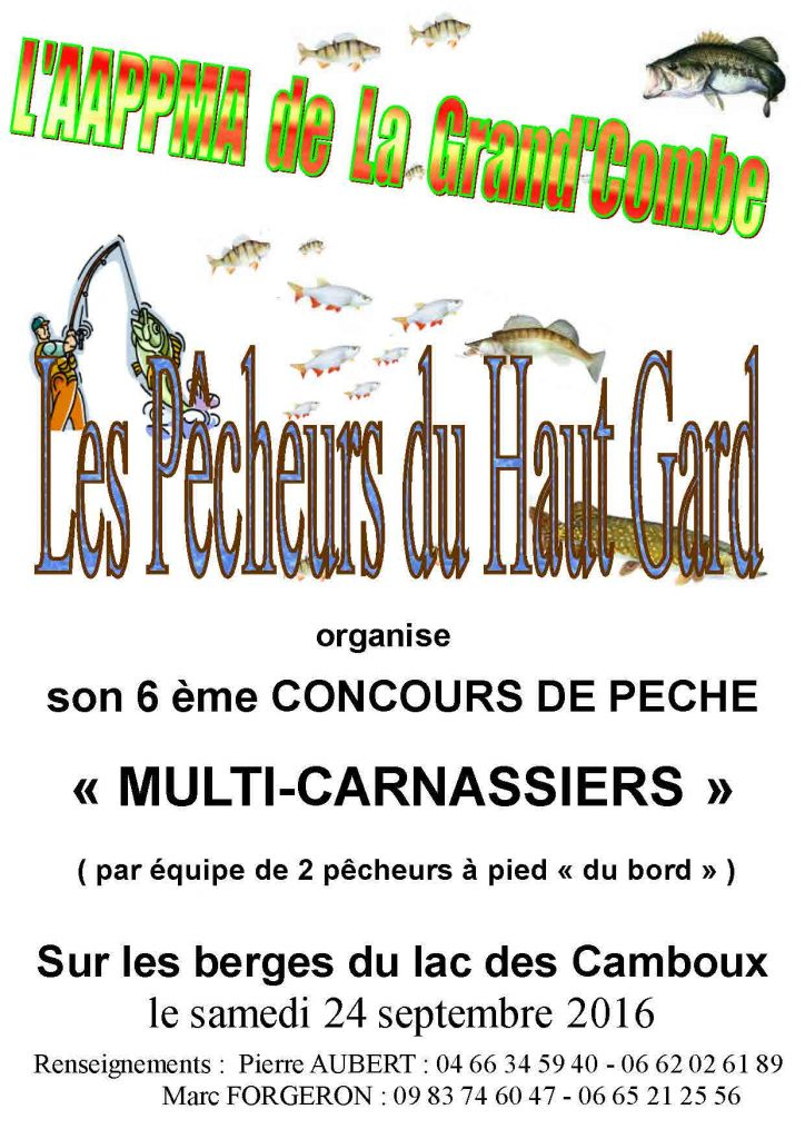 concours carnassiers camboux