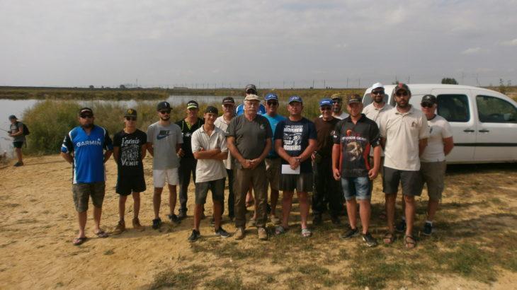 Les participants des rencontres Float Gard organisées par la Fédération de pêche du Gard