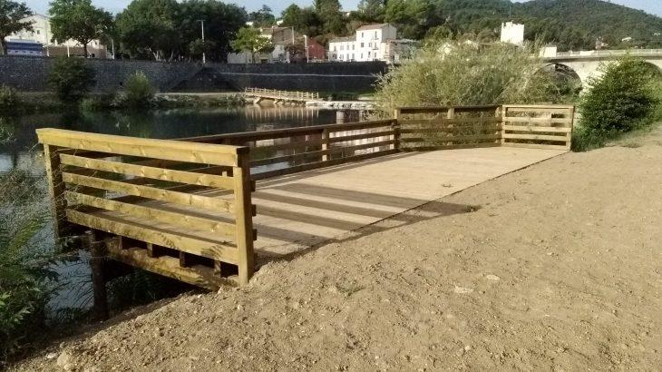 ponton Handipêche à Alès
