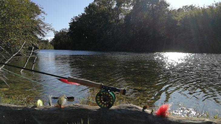 Pêche du carnassier à la mouche dans le Gard
