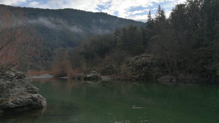 Pêcher la truite dans les Cévennes sur l'Hérault