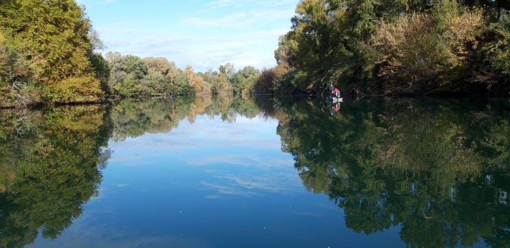 Pêcher sur le Gardon dans le département du Gard